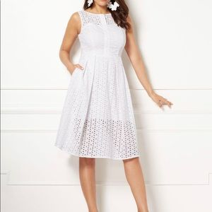 Eva Mendes brand new white dress with tags